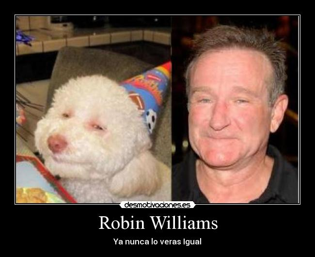 Robin Williams - Ya nunca lo veras Igual
