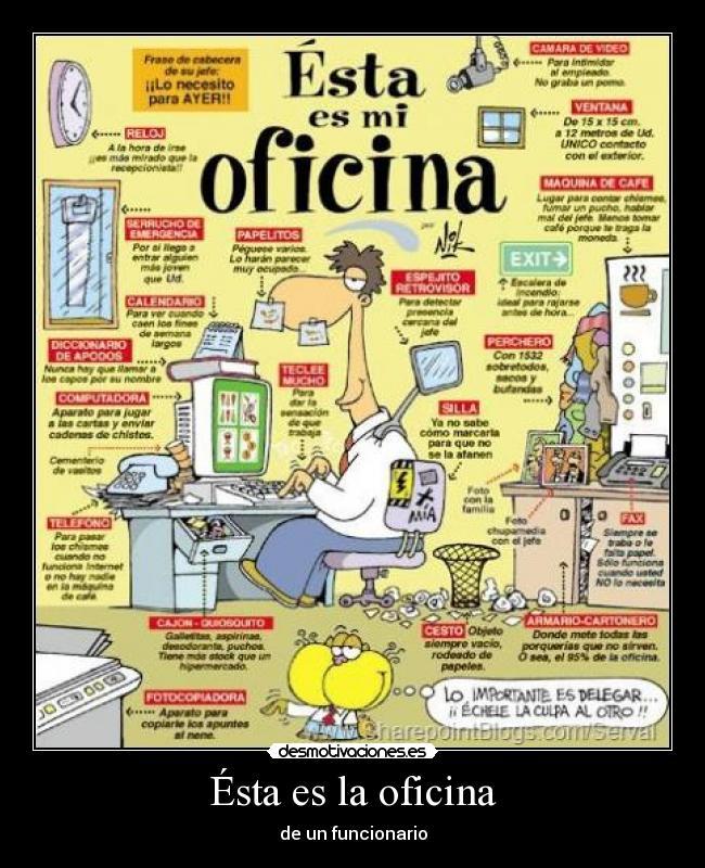 Im genes y carteles de oficina pag 14 desmotivaciones for La oficina telefono
