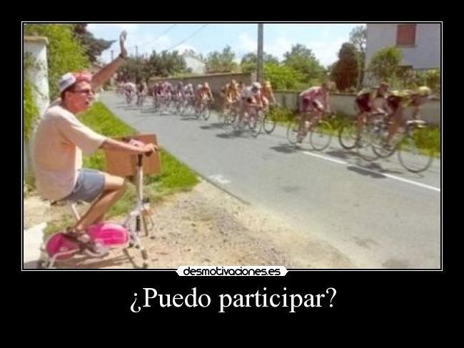 carteles ciclismo friki rosa desmotivaciones
