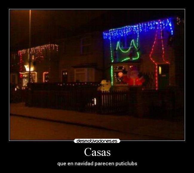 carteles casa puticlub adornos navidad desmotivaciones