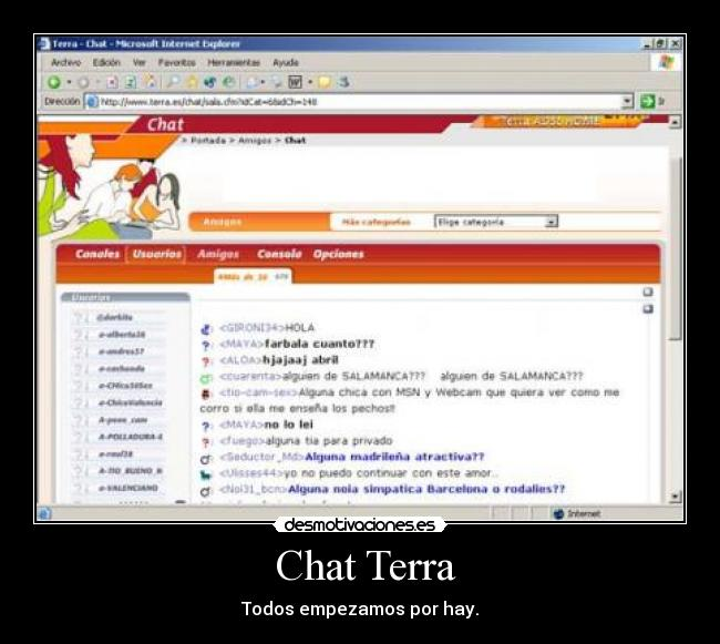 Terra Chat Cataluña