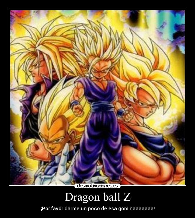 Dragon ball nos ense o taringa for Chambre dragon ball z