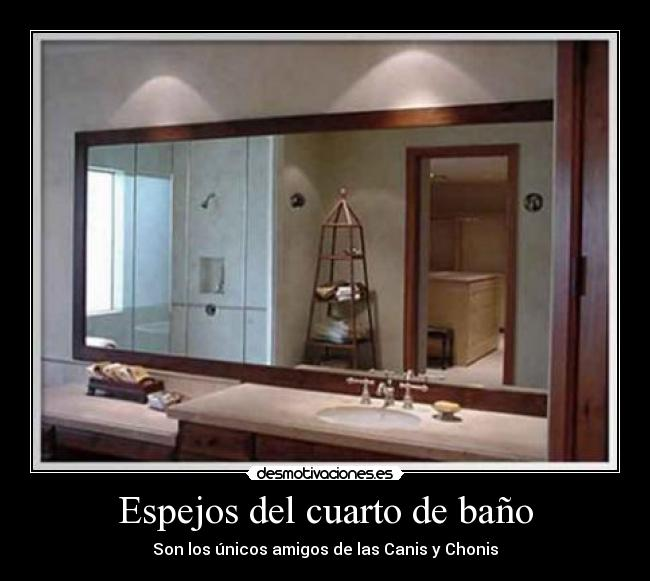Espejos del cuarto de ba o desmotivaciones - Espejos de habitacion ...