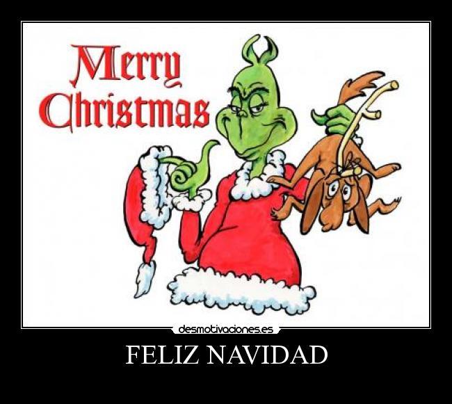 carteles navidad grinch navidad desmotivaciones