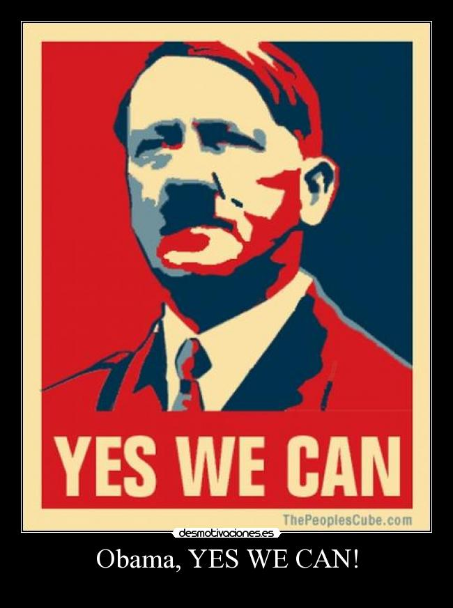 Obama, YES WE CAN! -