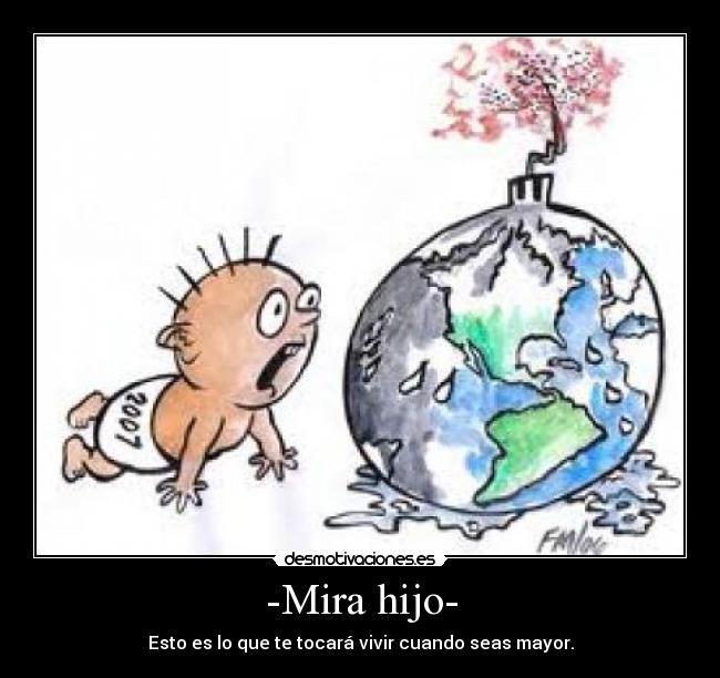 Cartel de contaminacion - Imagui