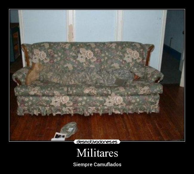 carteles militares desmotivaciones