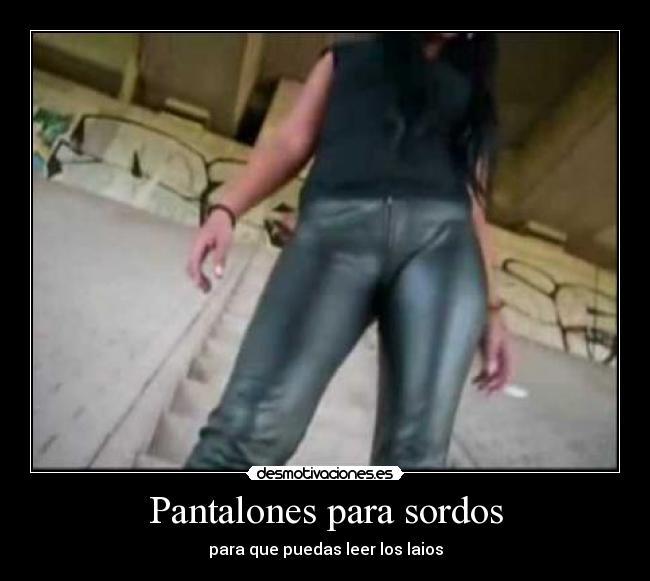 pantalones jodido