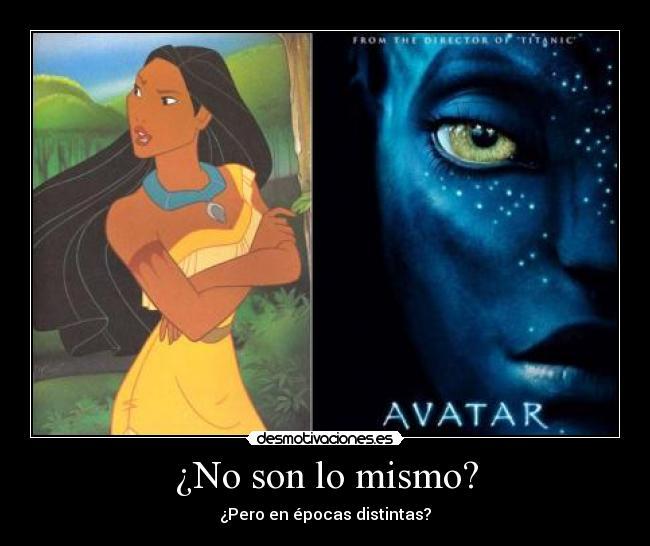 Avatar 2 Y 3: Imágenes Y Carteles De POCAHONTAS