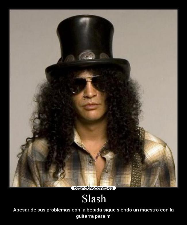 carteles guns and roses slash hard rock desmotivaciones