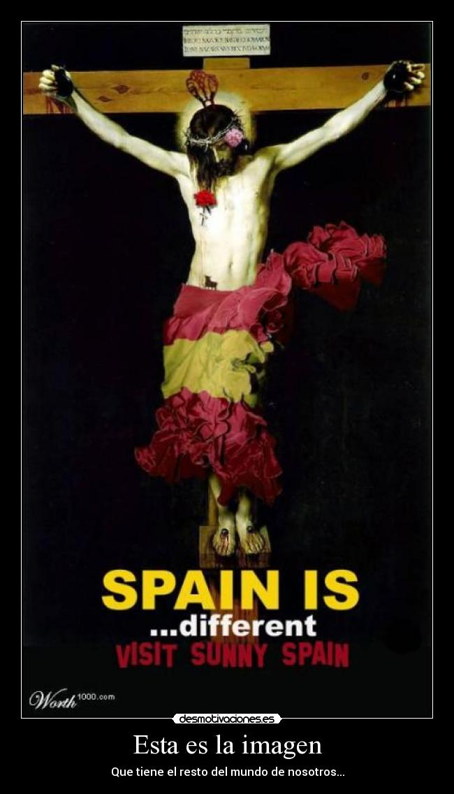 carteles spain different desmotivaciones
