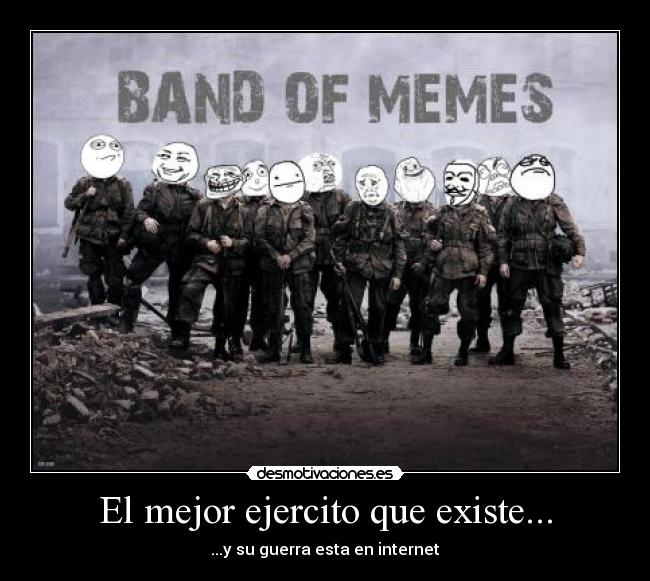 carteles band brothers memes pokerface trollface fuuuuuuu fack yeah okay forever alone desmotivaciones