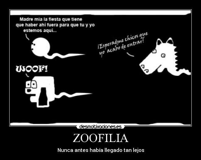 Un terrible problema con la zoofilia
