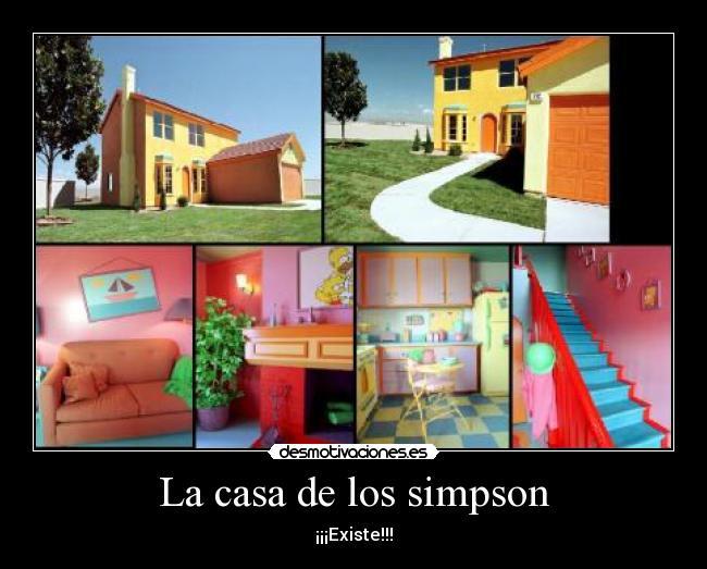 La casa de los simpson desmotivaciones for La casa del retal
