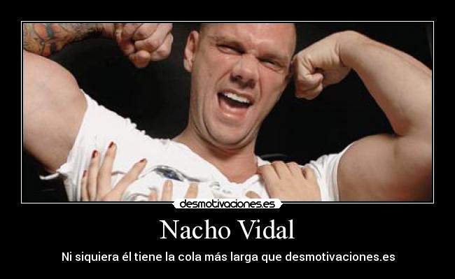 videos pornos de nacho vidal xxx hombres