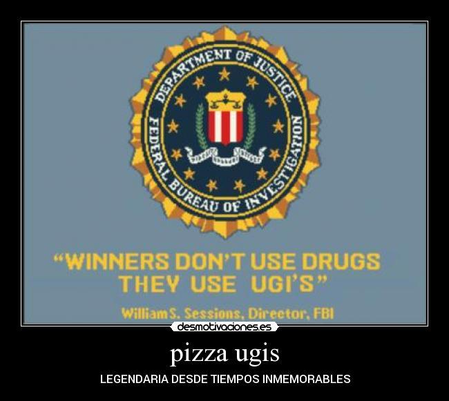 carteles ugispizza desmotivaciones