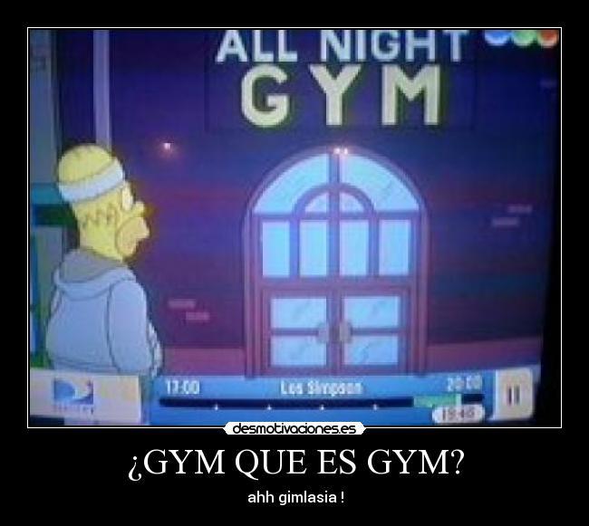 que gym