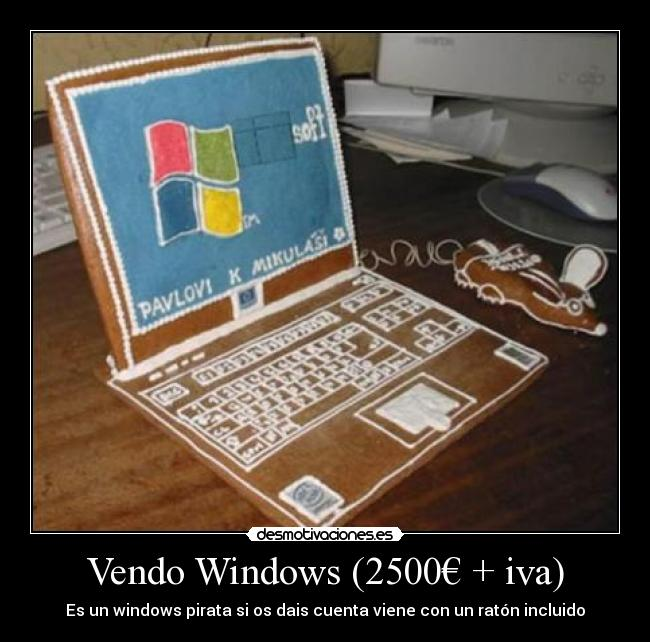 Vendo Windows (2500€ + iva) -