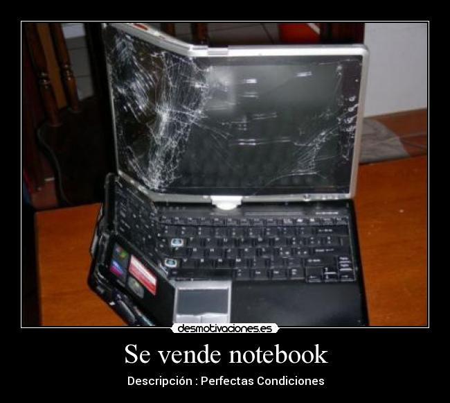 Se vende notebook - Descripción : Perfectas Condiciones