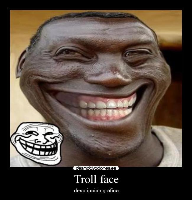 troll face man