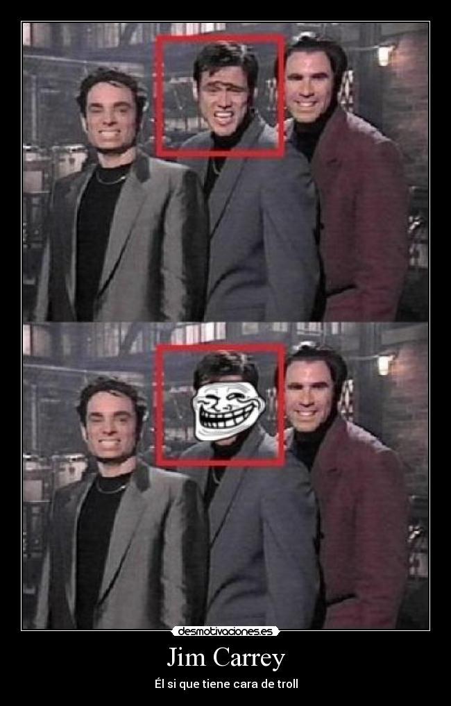 Las Caras mas graciosas de Jim Carrey