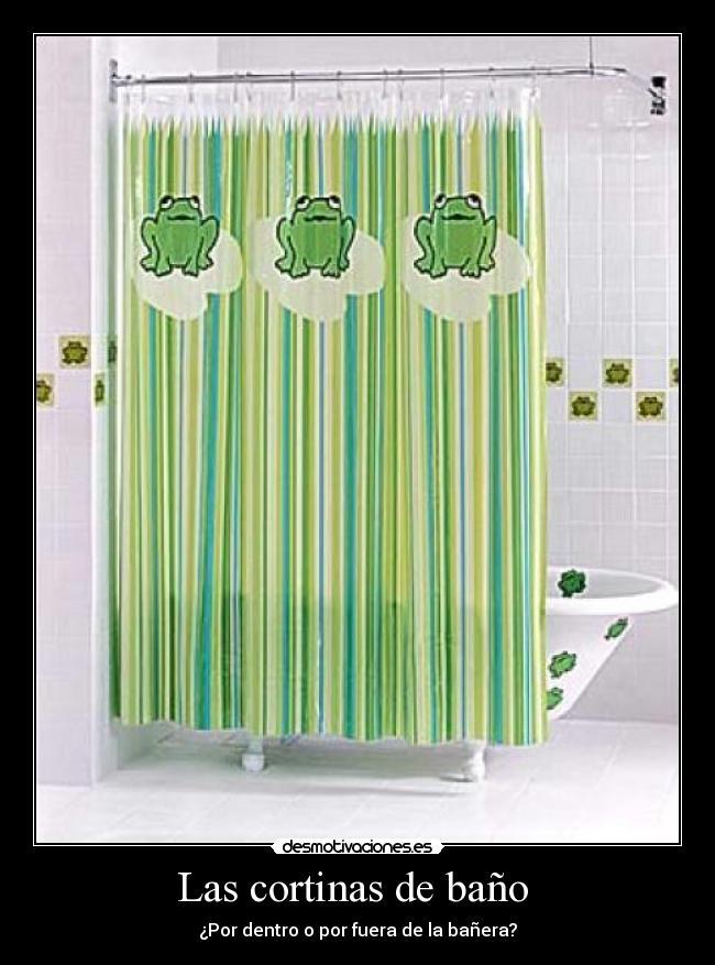 Cortinas De Baño La Oca:Las cortinas de baño