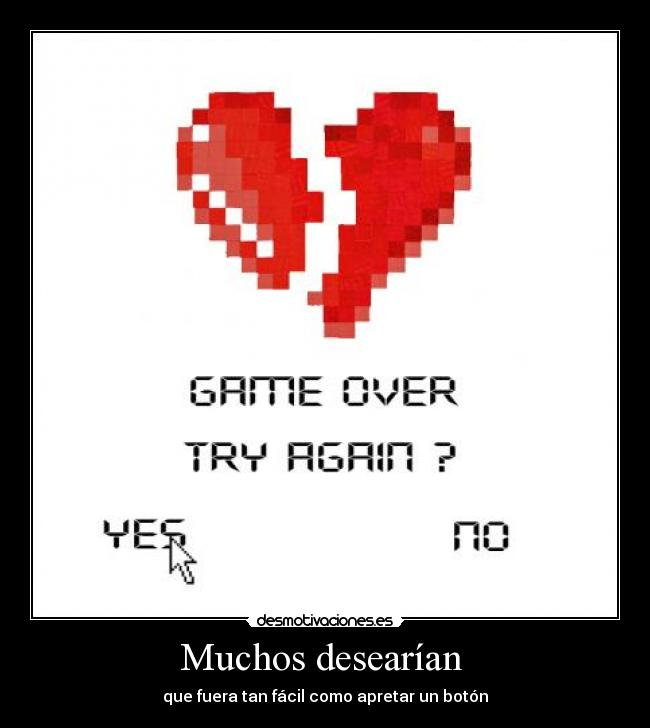 carteles game over desmotivaciones
