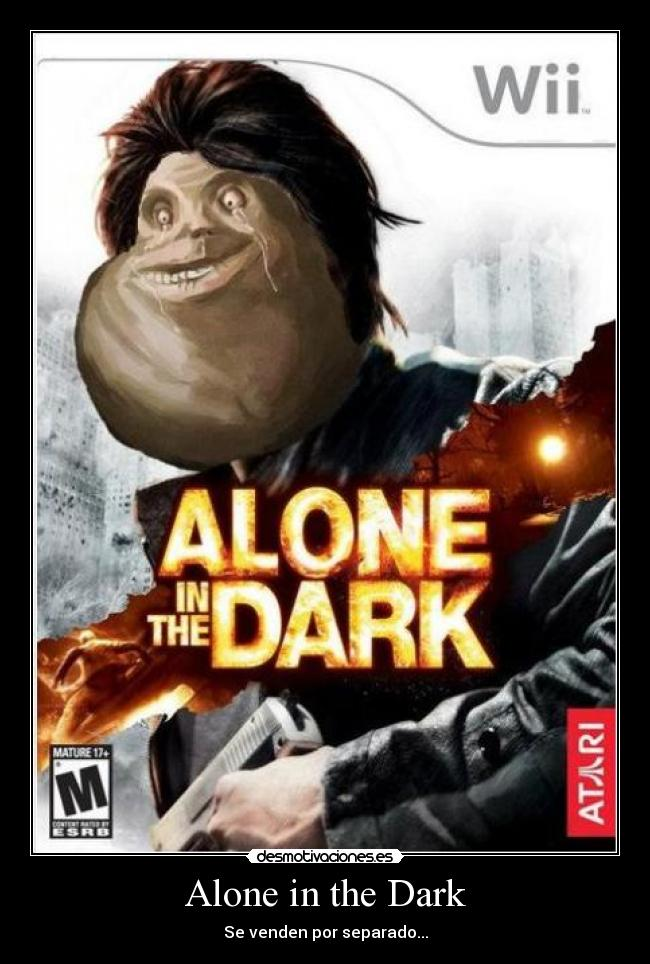 Alone in the Dark - Se venden por separado...