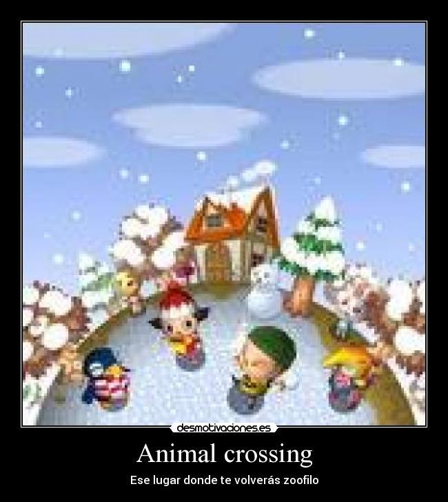 Animal crossing - Ese lugar donde te volverás zoofilo