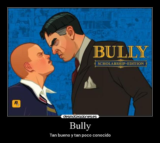 videojuego bullly gay