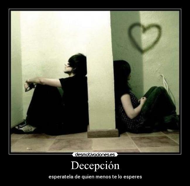 carteles decepcion desmotivaciones