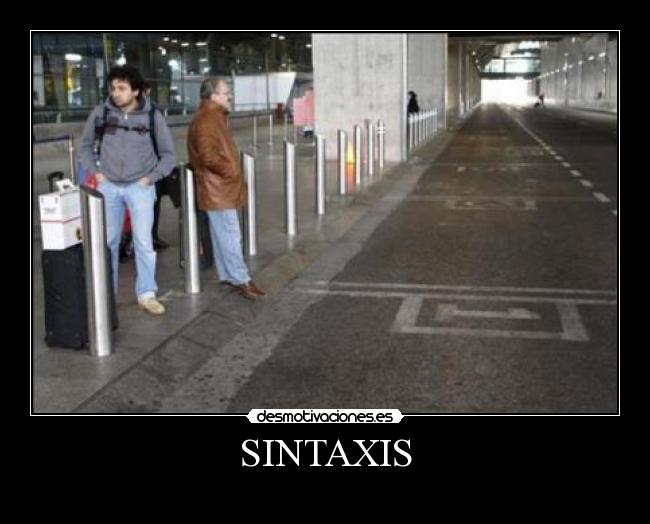 SINTAXIS -