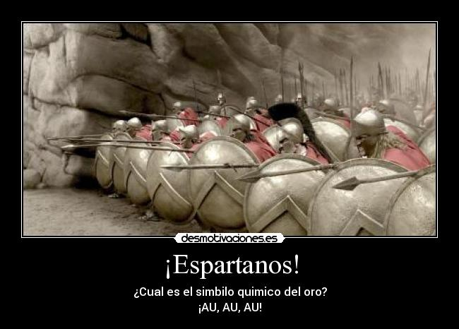 ¡Espartanos! -