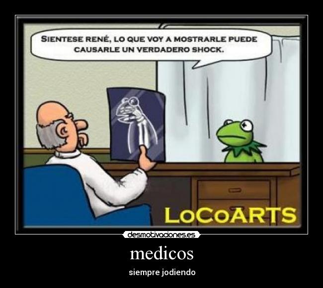 Medicos Desmotivaciones