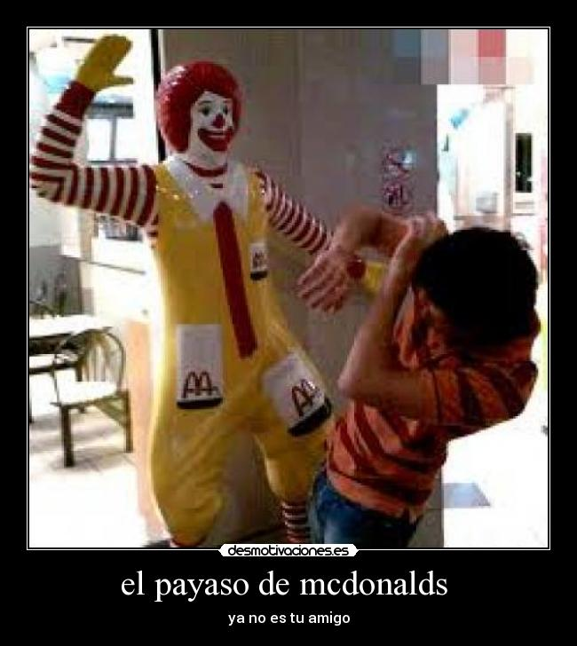 Payaso De Mcdonalds