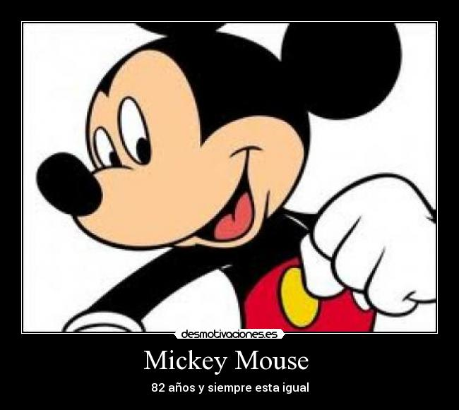 Mickey Mouse Desmotivaciones