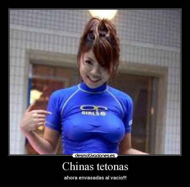 Chinas tetonas