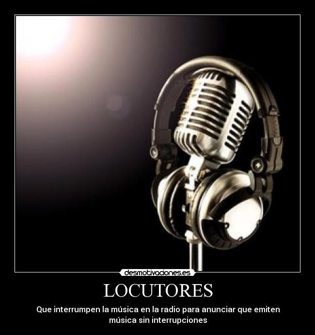 locutores espana: