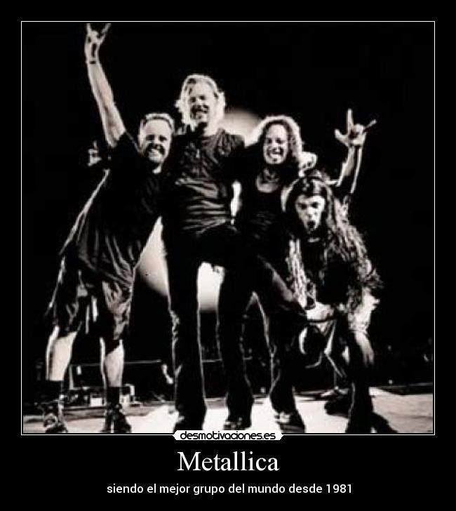 50 desmotivaciones del Rock y Heavy Metal part. 1 Metallica3