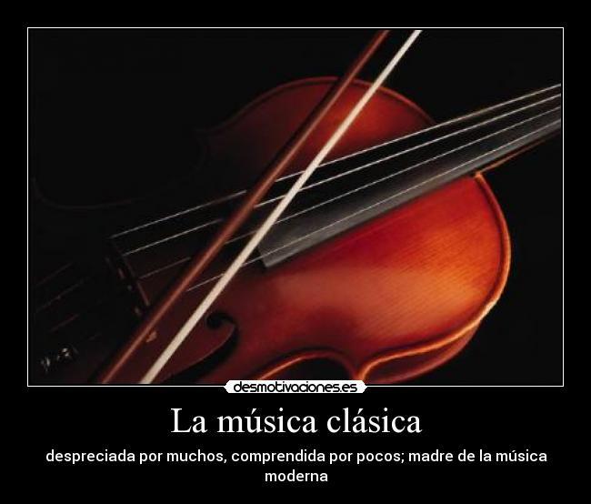 la musica clasica es: