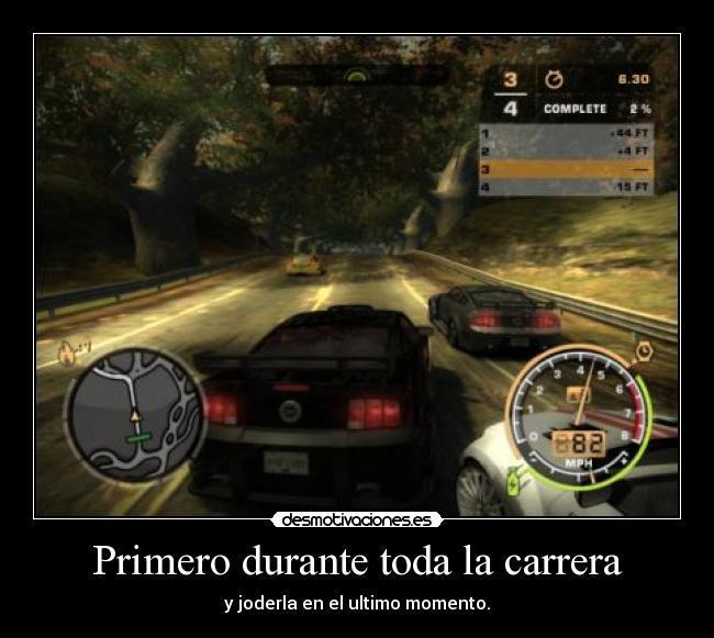 carteles need for speed desmotivaciones