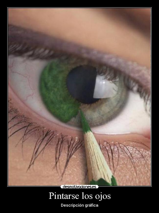Imagenes de como pintarse los ojos imagui for Pintarse los ojos facil
