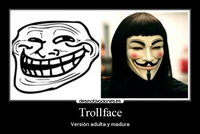 carteles trollface vendetta for version adulta madura desmotivaciones