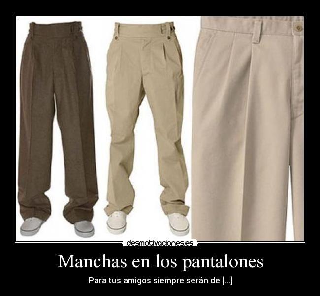 Semen en los pantalones