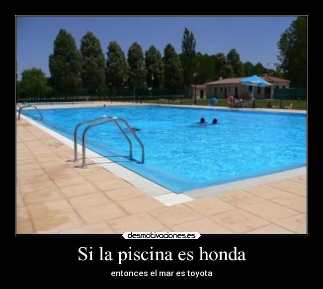 si la piscina es honda desmotivaciones