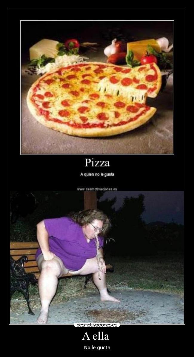 carteles pizza vomito desmotivaciones