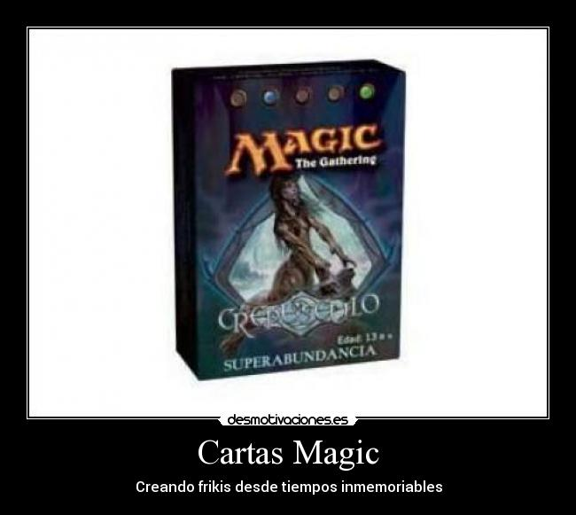 Cartas Magic -