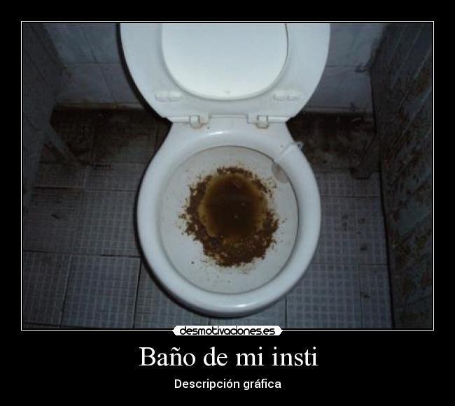 Imagenes De Un Baño Sucio:carteles bano insti guarros mierda sucio retrete puerta meado