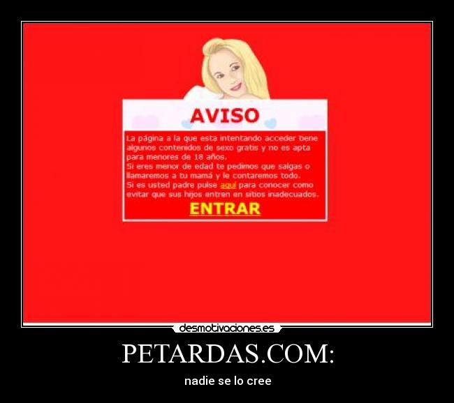 PETARDAS.COM: