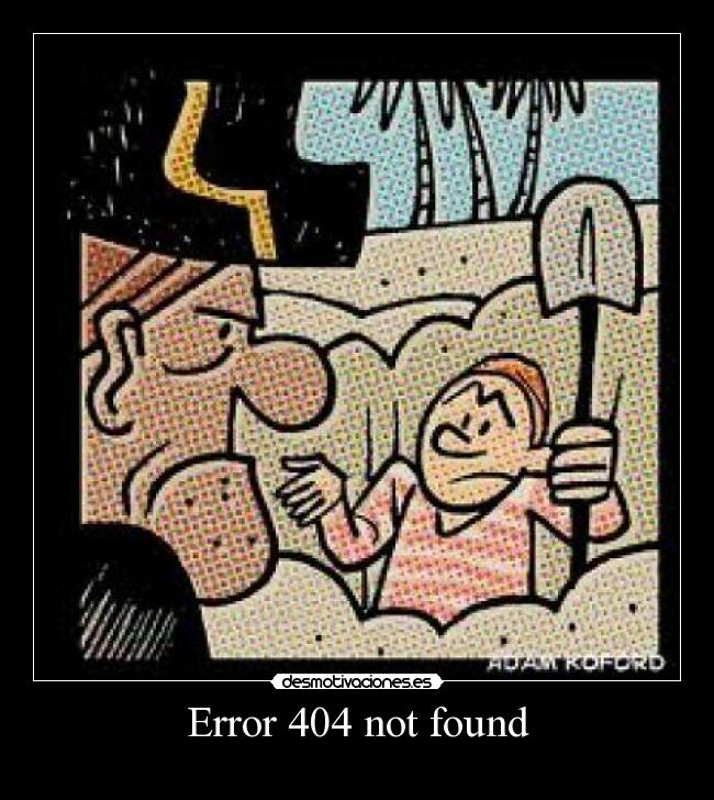 Error 404 not found -